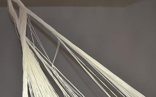 Mexicaanse hangmat met draden in de war