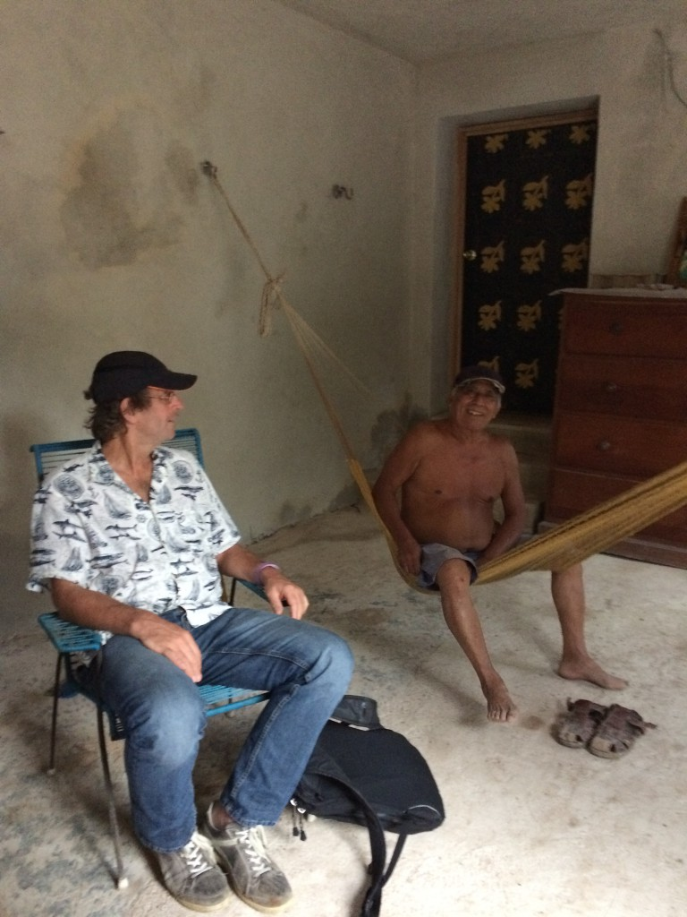 Hangmat gebruik in Mexico