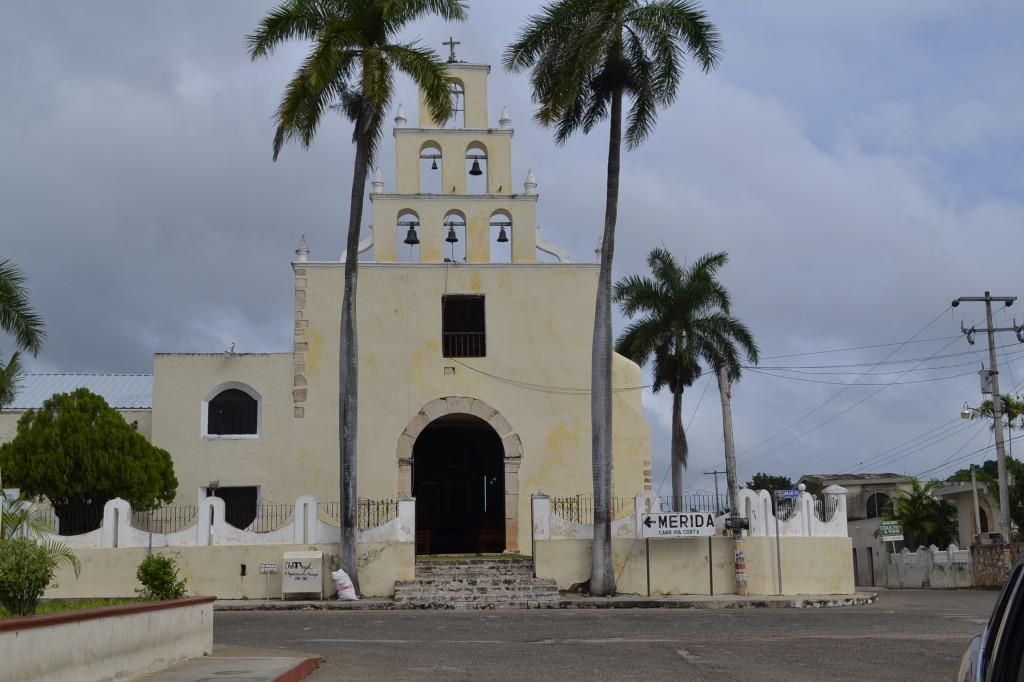 Kerk in Chemayel, centrum hangmat productie