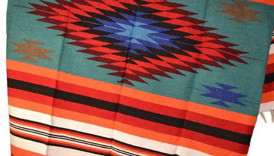 Kleurrijke dekens : de diamant deken