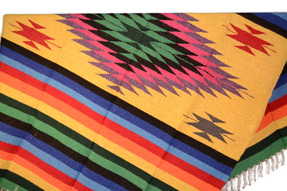 Mexicaanse Indiaanse Maya deken