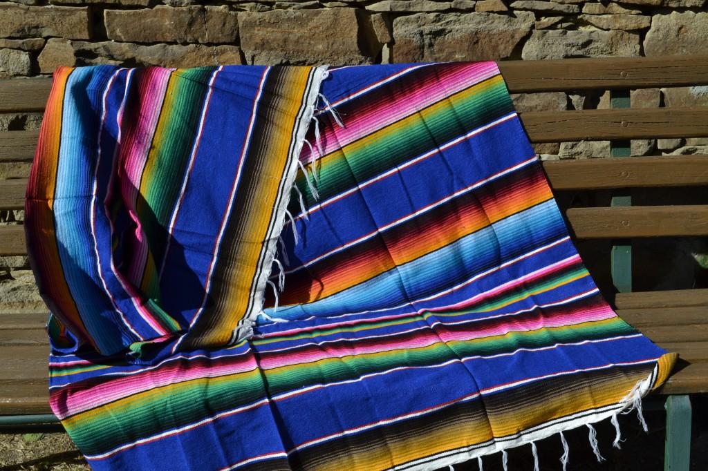 Mexicaanse dekens als plaid