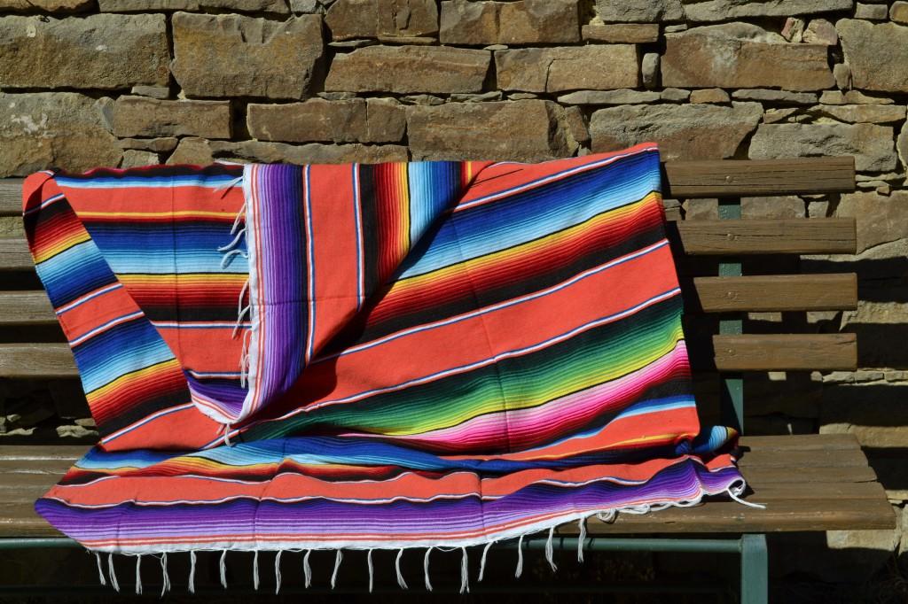 decoratieve deken mexicaans serape