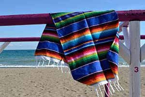 Couverture mexicaine serape
