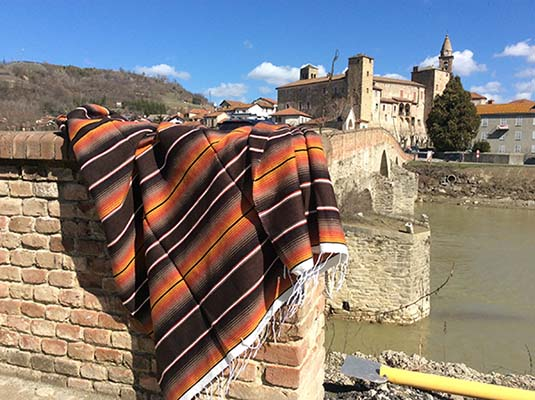 Mexikanische Decke serape