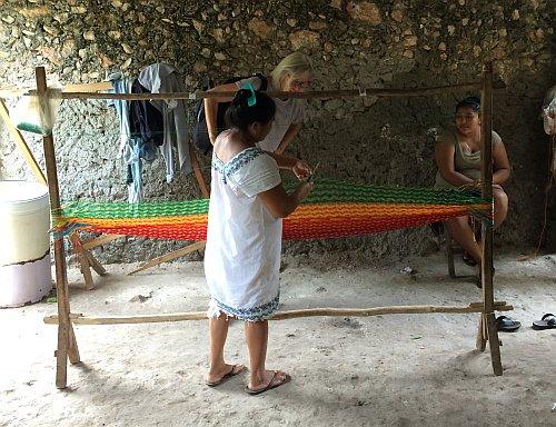 mexicansk hængekøje yucatan