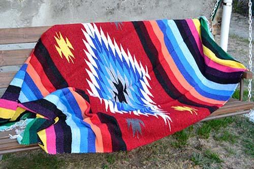 Mexicansk tæppe indiansk