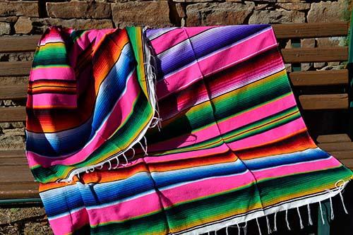 Manta mexicana serape