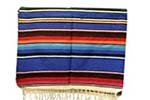 Couverture serape mexicaine