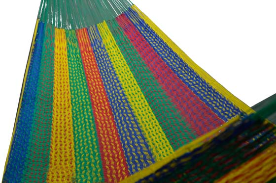 Nylon Mexican hammock Large