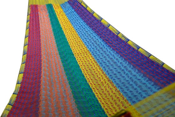 Nylon Mexican hammock - Basis - S_NAA01
