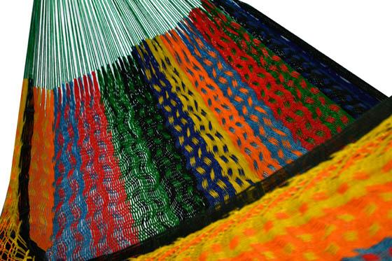 Hamac mexicainen en nylon.,  XXXL Thick Cord
