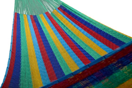 Nylon Mexican hammock XL