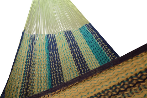 Mexican hammock with short suspension lines. - XXL - XXSTT05