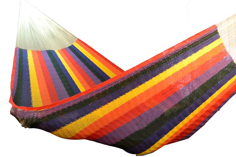 Hangmat Voor 2 Personen.Mexicaanse Tweepersoons Hangmat Xxl Familiale Xxlww20 Icolori