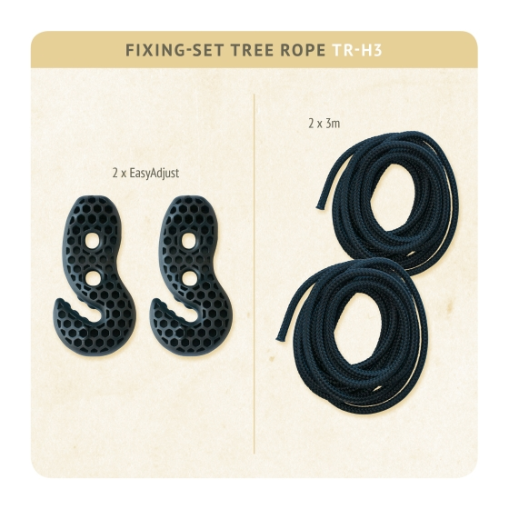 Fixing-set - - FS4XXTreeRope