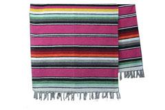 Mexikanische Decke<br/>Serape , 215 x 145 cm<br/>ABMZZ0pink4