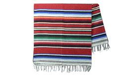 Mexikanische Decke<br/>Serape , 215 x 145 cm<br/>ABMZZ0red4