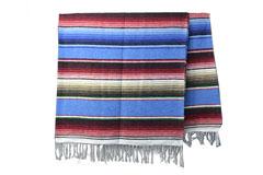 Mexikanische Decke<br/>Serape , 215 x 145 cm<br/>ABMZZ0turq3