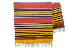 Mexikanische Decke -  Serape - XL - Gelb