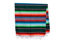 Couverture mexicaine -  Serape - XL - Vert - BBXZZ0green2