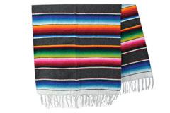 Mexikanische Decke<br/>Serape , 210 x 150 cm<br/>BBXZZ0grey1