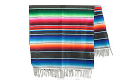 Couverture mexicaine<br/>Serape , 210 x 150 cm<br/>BBXZZ0grey2