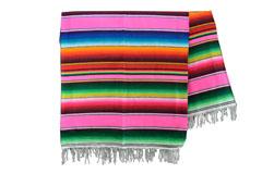 Couverture mexicaine -  Serape - XL - Rose - BBXZZ0hotpink1