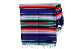 Mexican blanket - Serape - XL - Purple - BBXZZ0purple