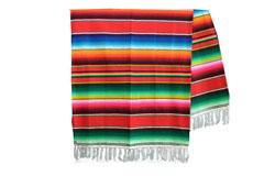 Mexican blanket - Serape - XL - Red - BBXZZ0red2