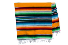 Couverture mexicaine -  Serape - XL - Jaune - BBXZZ0yellow