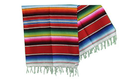Mexican blanket - Serape - L - Red - BPXZZ0red