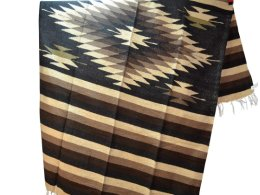 Mexican blanket,Indian. Black