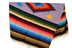 Mexican blanket,Indian. Purple