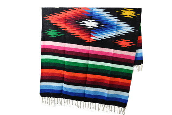 Mexikanische Decke<br/>Indianer , 200 x 125 cm<br/>EEXZZ0DGblack
