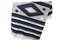 Mexican blanket - indian - L - Blue - EEXZZ1DGgreyblu