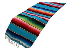 Sjaal en of tafelloper ,  Serape