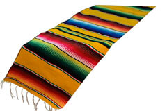Scarf   Table runner,Serape. Yellow
