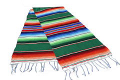 Chemin de table -  Serape - S - Vert - GVXZZ0green