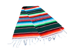 Chemin de table<br/>Serape , 200 x 35 cm<br/>GVXZZ0green2