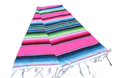 Chemin de table -  Serape - S - Rose - GVXZZ0hotpink