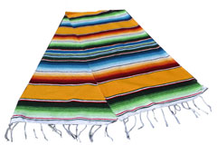 Chemin de table<br/>Serape , 200 x 35 cm<br/>GVXZZ0yellow