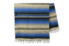 Mexicaanse deken<br/>Falsa , 215 x 150 cm<br/>LHGZZ0blu