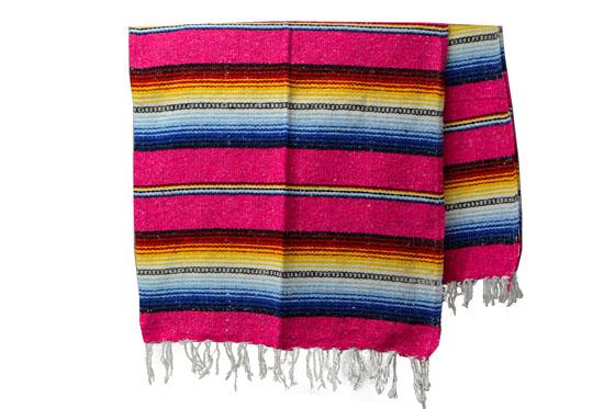 Mexicaanse deken<br/>Falsa , 200 x 130 cm<br/>MBXZZ0pink