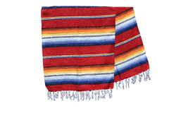 Mexicaanse deken - Falsa - XL - Rood