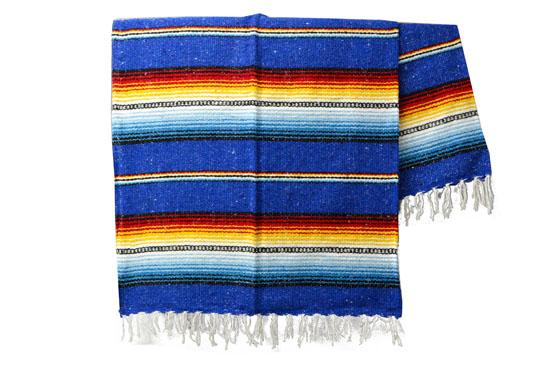Mexicaanse deken<br/>Falsa , 200 x 130 cm<br/>MBXZZ0royalblu