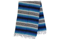 Mexican blanket - Falsa - L - Blue - MSAZZ0blu1
