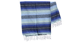 Couverture mexicaine -  Falsa - L - Blue