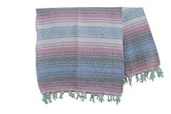 Mexicaanse deken<br/>Falsa , 180 x 120 cm<br/>MSXZZ0pastel1