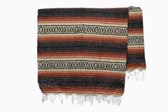 Mexican blanket<br/>Falsa, 200 x 125 cm<br/>MTXZZ0brown1